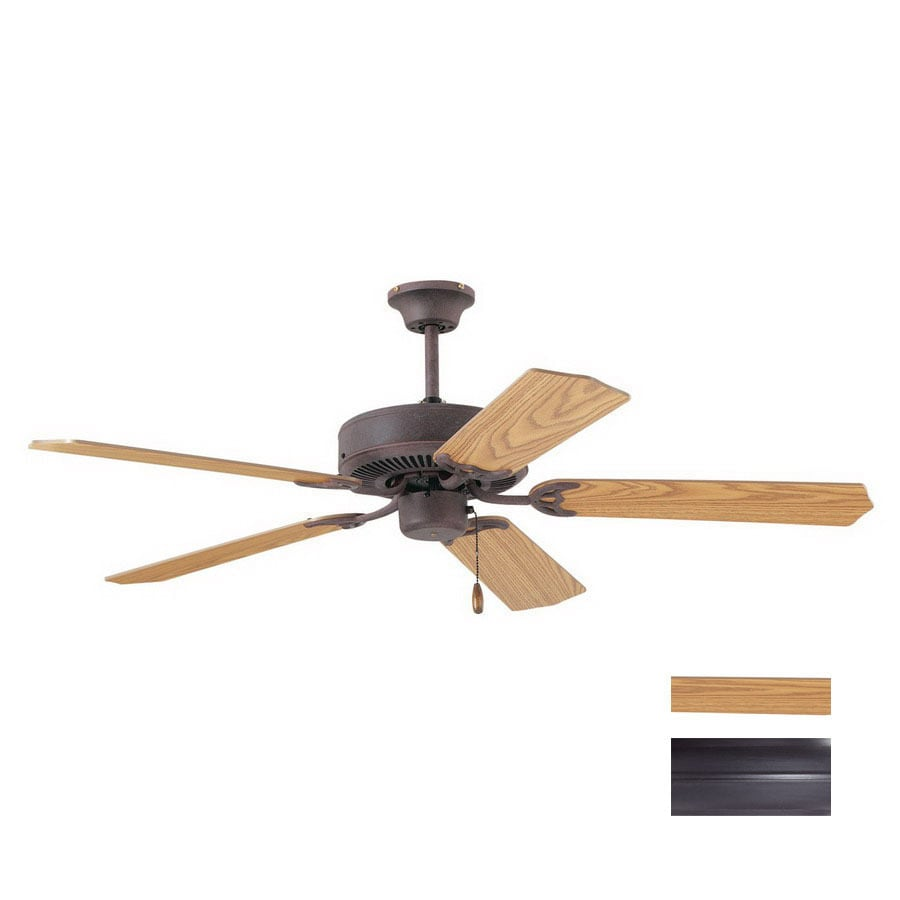 Thomas Lighting 52-in Paddle Painted Bronze Ceiling Fan