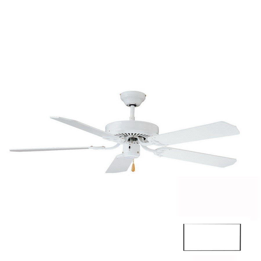 Thomas Lighting 52-in Paddle White Ceiling Fan