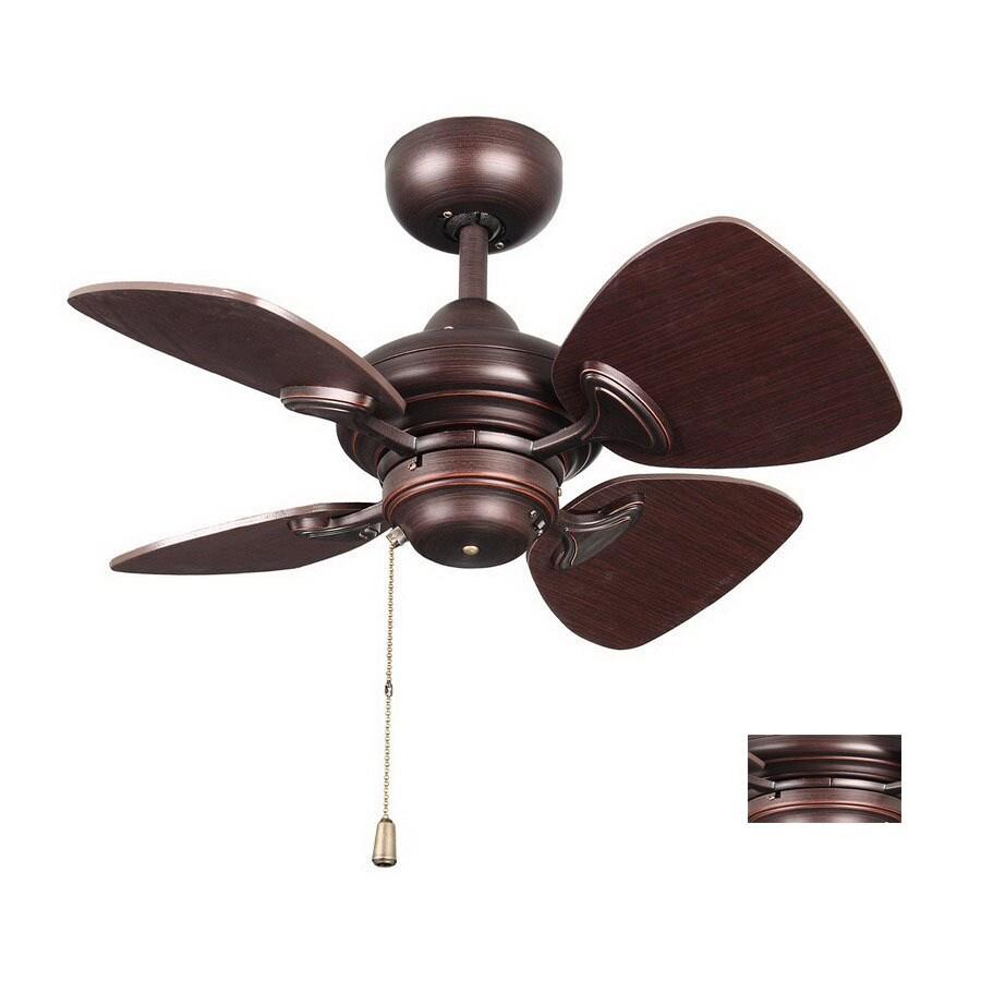 Kendal Lighting 24-in Aries Copper Bronze Ceiling Fan