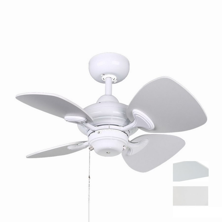 Kendal Lighting 24-in Aries White Ceiling Fan