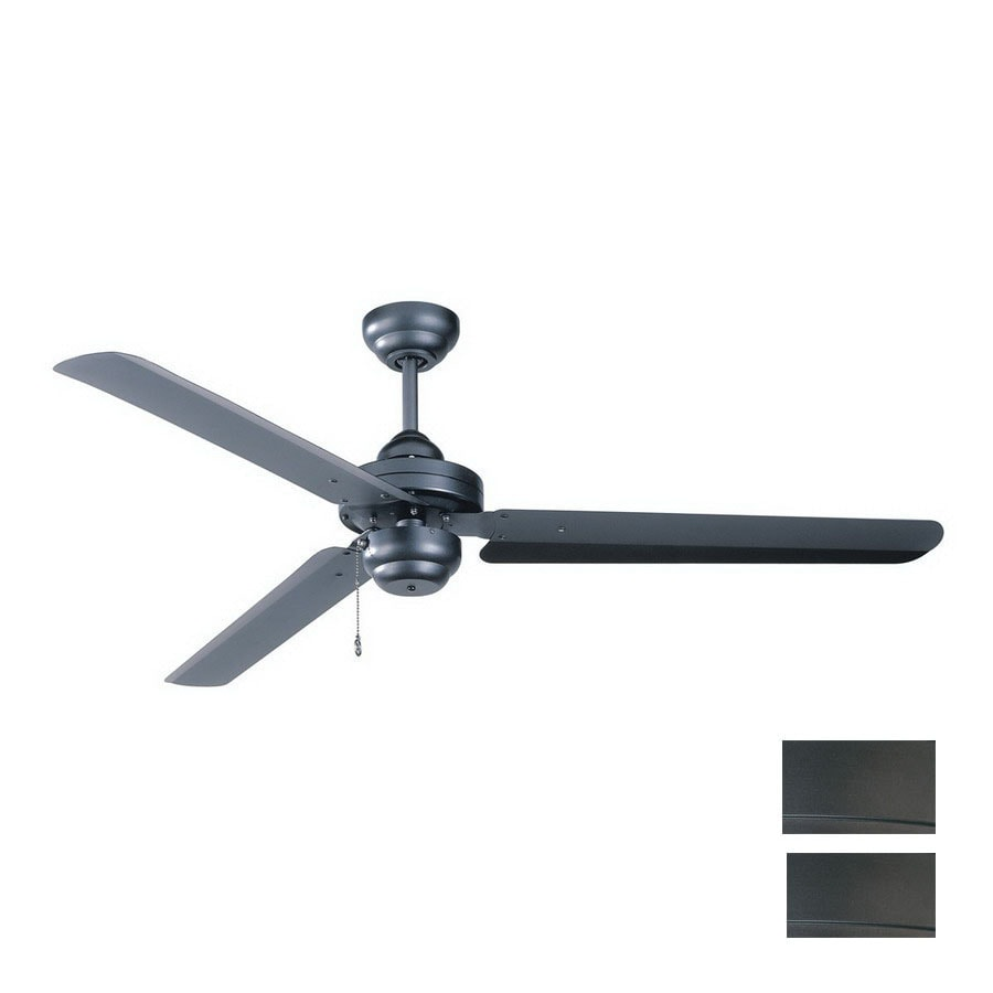 Kendal Lighting 54-in Studio Natural Iron Ceiling Fan ENERGY STAR