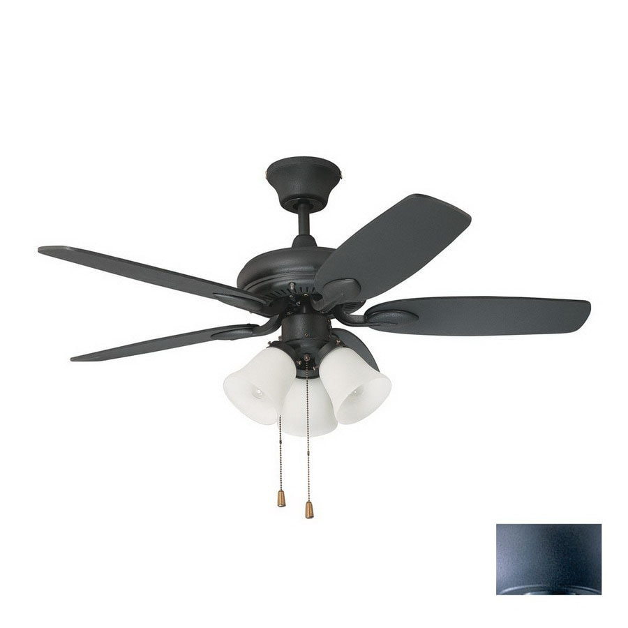 Shop kendal lighting 42 in cordova wrought iron ceiling fan with kendal lighting 42 in cordova wrought iron ceiling fan with light kit aloadofball Gallery