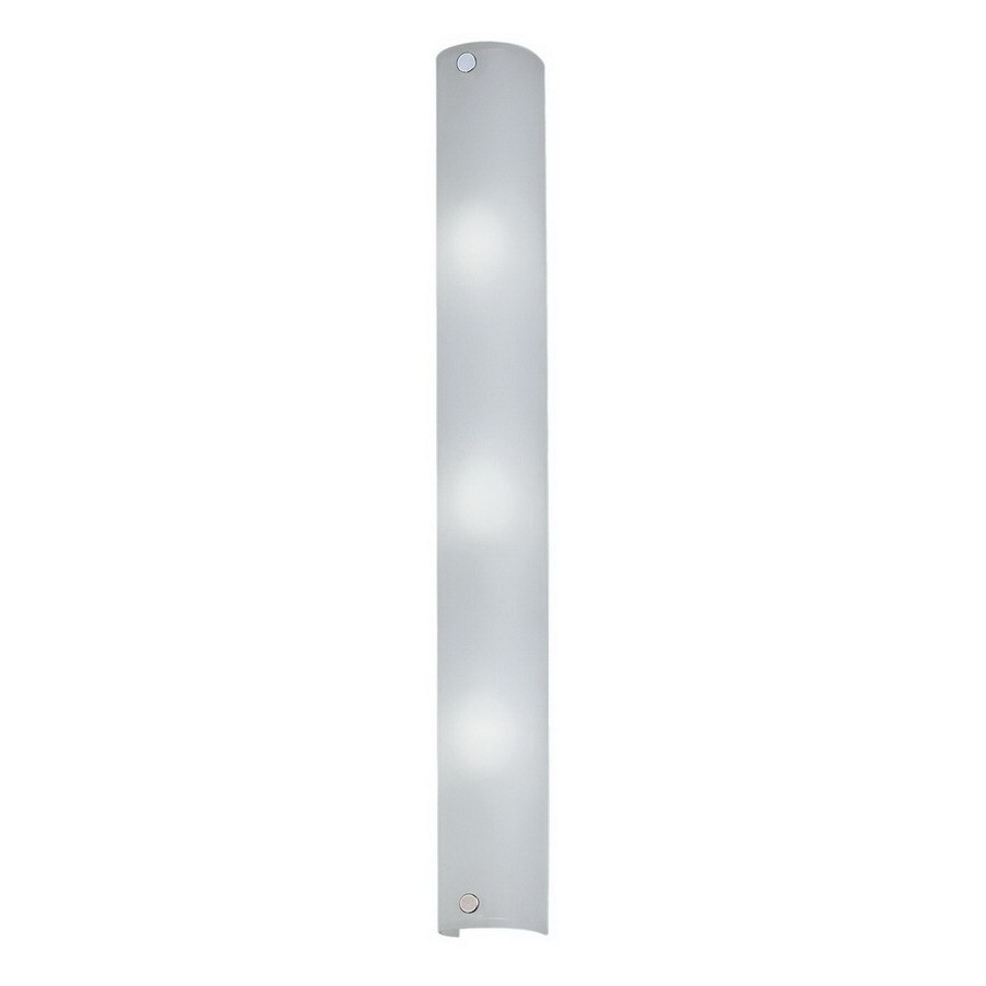EGLO Mono 4-in W 3-Light Chrome Pocket Wall Sconce