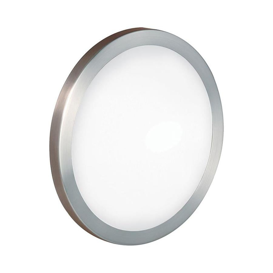 EGLO Arezzo 14-in W 1-Light Nickel Pocket Wall Sconce