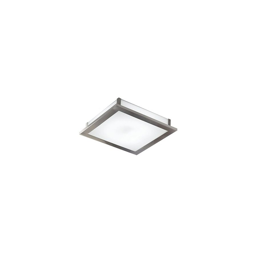 EGLO 15-in W Auriga 3-Light Nickel Pocket Wall Sconce