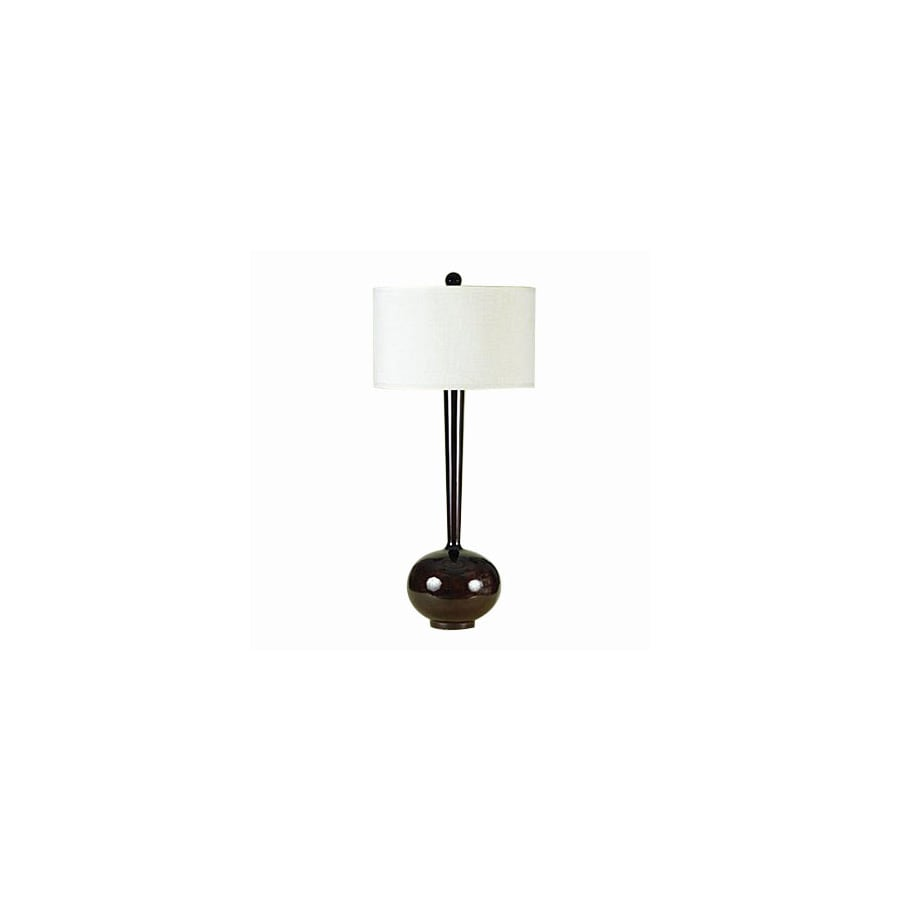 Shop candice olson by af lighting 33 in 3 way faux wood table lamp candice olson by af lighting 33 in 3 way faux wood table lamp with aloadofball Gallery