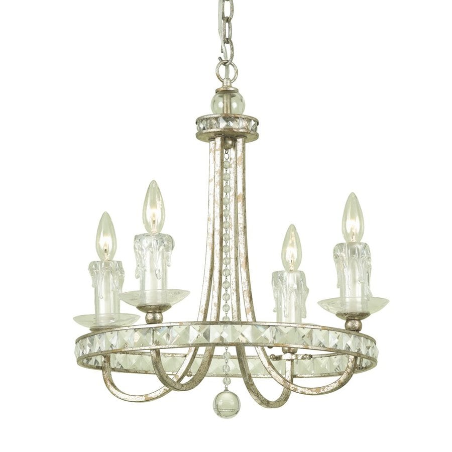 Shop candice olson by af lighting aristocrat 4 light soft gold candice olson by af lighting aristocrat 4 light soft gold crystal accent or plug aloadofball Choice Image