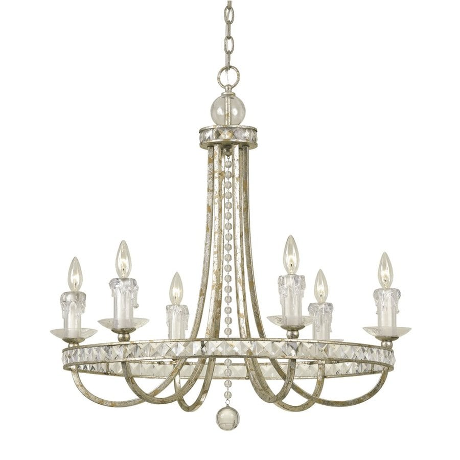 Shop candice olson by af lighting aristocrat 30 in 6 light soft gold candice olson by af lighting aristocrat 30 in 6 light soft gold empire chandelier aloadofball Gallery