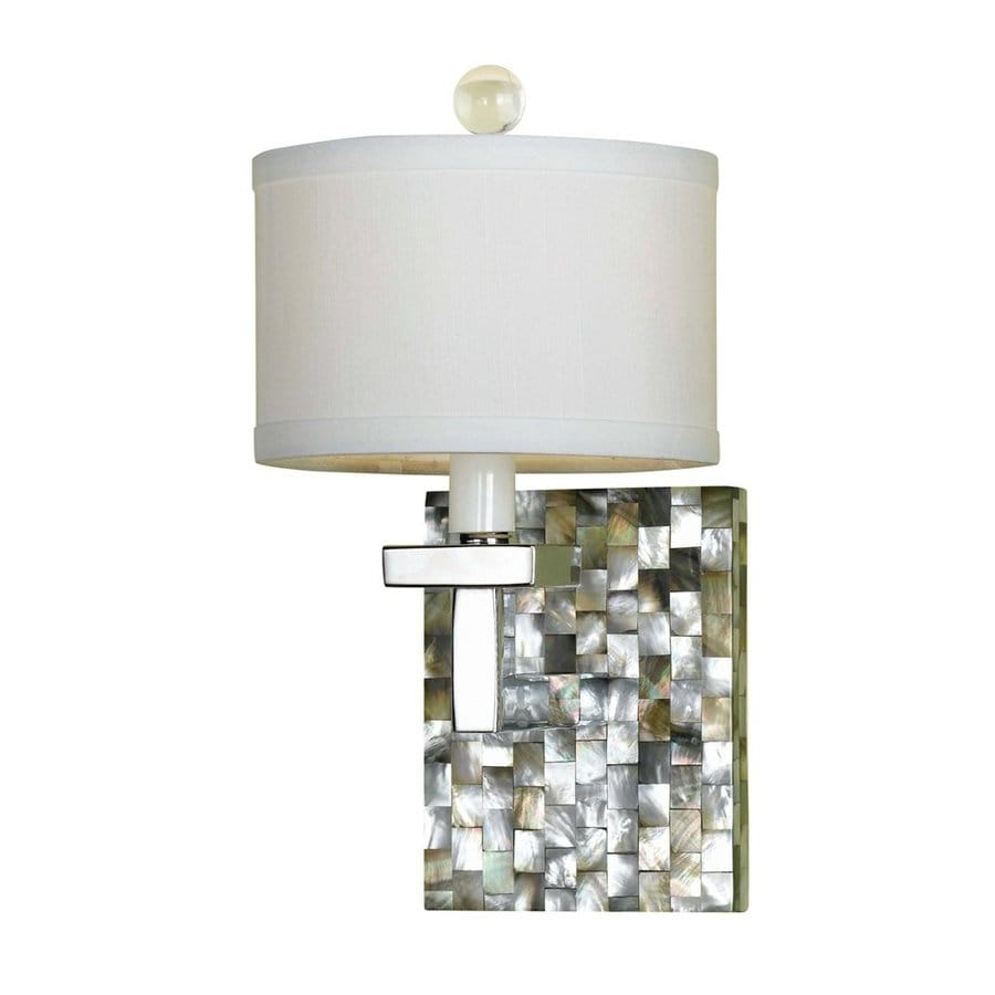 Candice Olson by AF Lighting Candice Olson Sahara 6-in W 1-Light Mosaic Art Glass Arm Hardwired Wall Sconce
