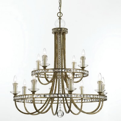 Aristocrat 12 Light Soft Gold Chandelier