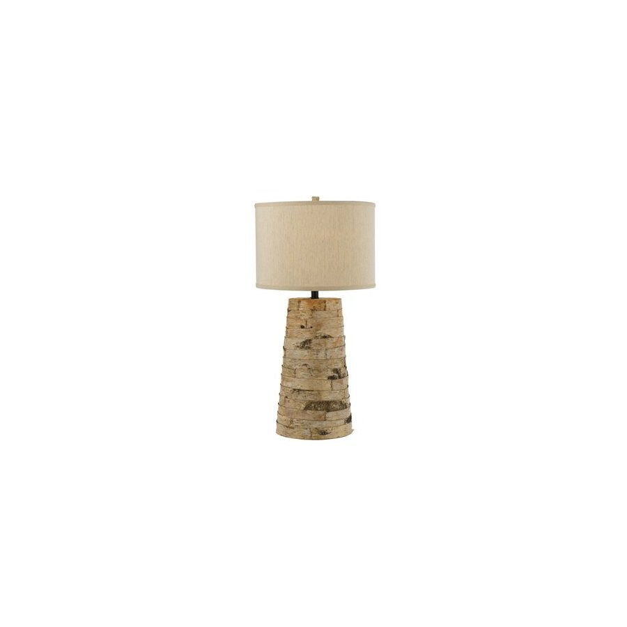 Shop af lighting 32 in 3 way natural table lamp at lowes af lighting 32 in 3 way natural table lamp geotapseo Gallery