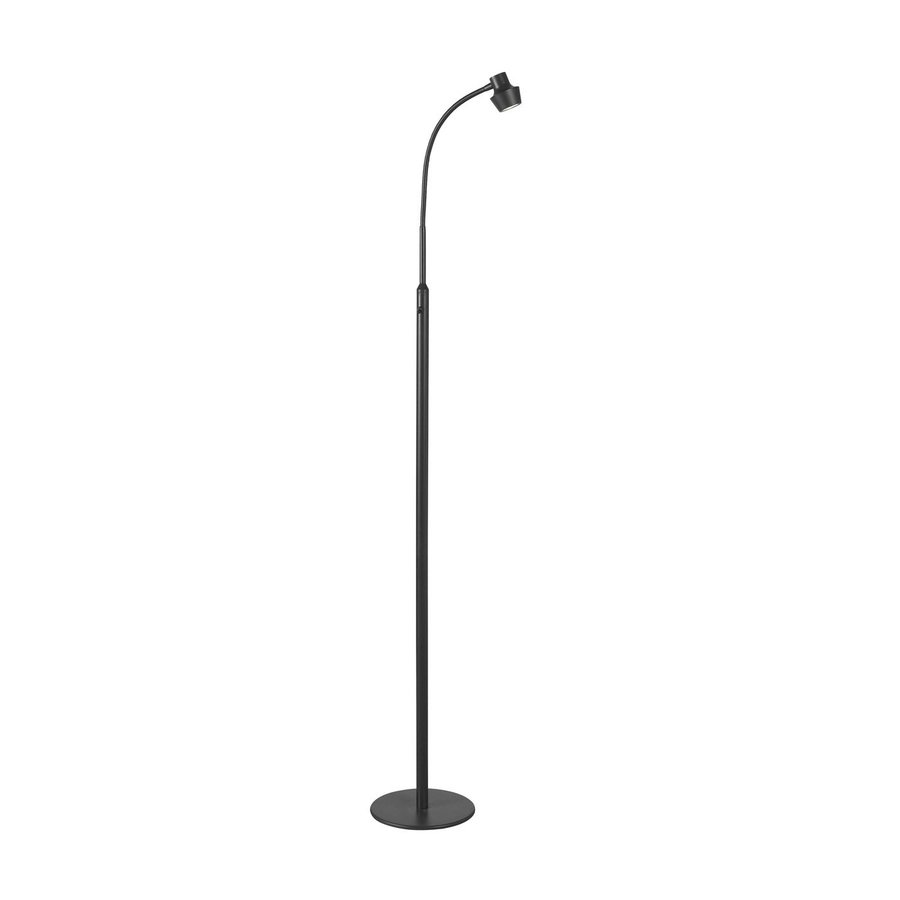 Kenroy Home Stanton 52-in Bronze LED Stick Floor Lamp with Metal Shade