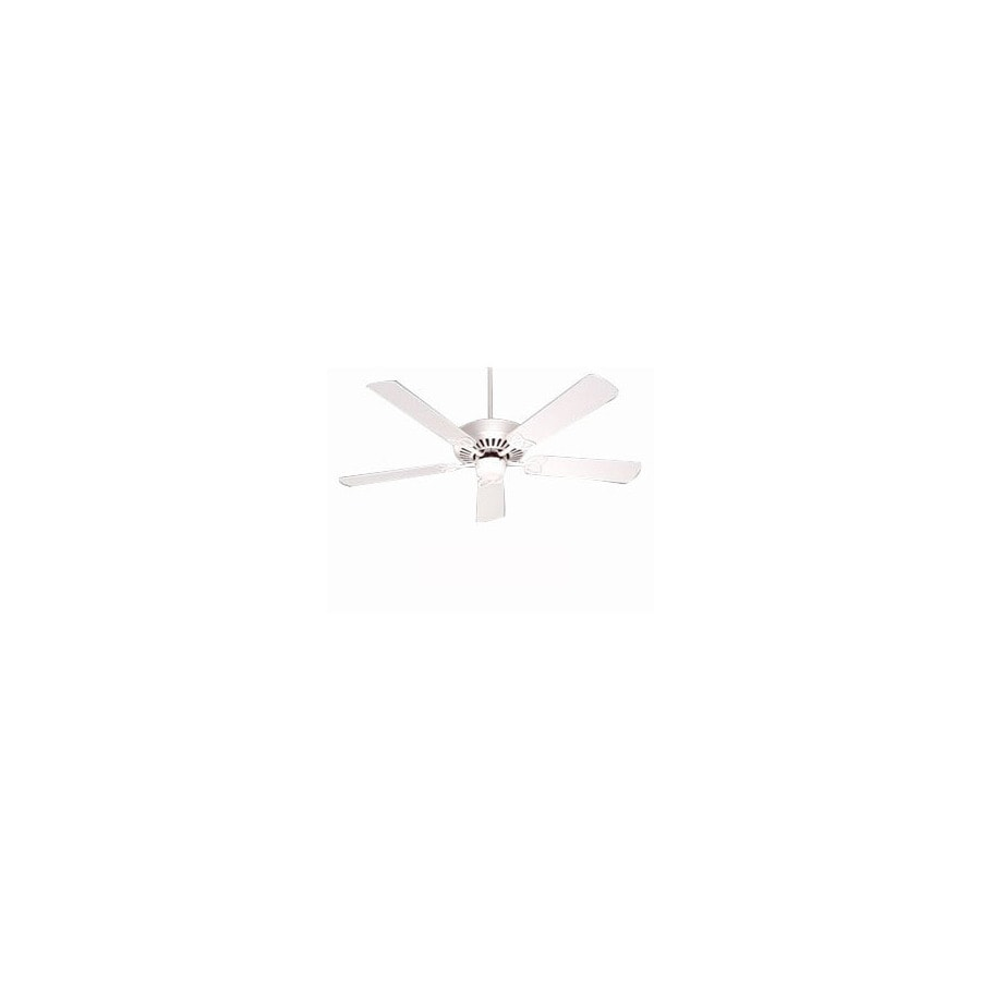 Nicor Lighting 52-in Chateau Soft White Ceiling Fan