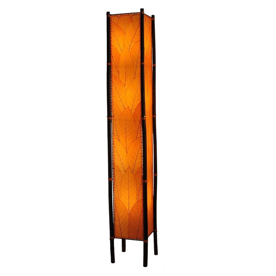 Superieur Eangee Home Designs Fortune 72 In Indoor Floor Lamp With Orange Shade