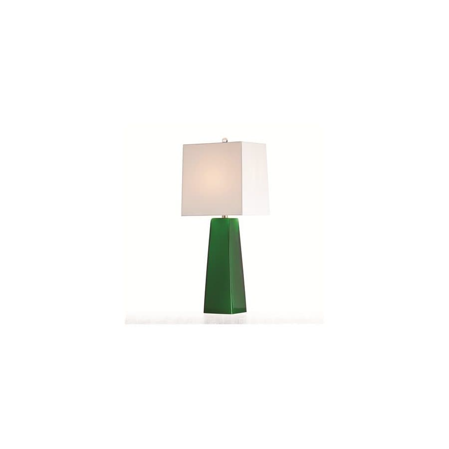 Arteriors Home 29-in Emerald Table Lamp with Emerald Shade