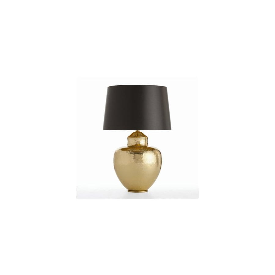 Arteriors Home 28 1 2 In 3 Way Vintage Brass Table Lamp With Black