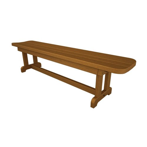 Polywood 70 In L Patio Bench At Lowes Com