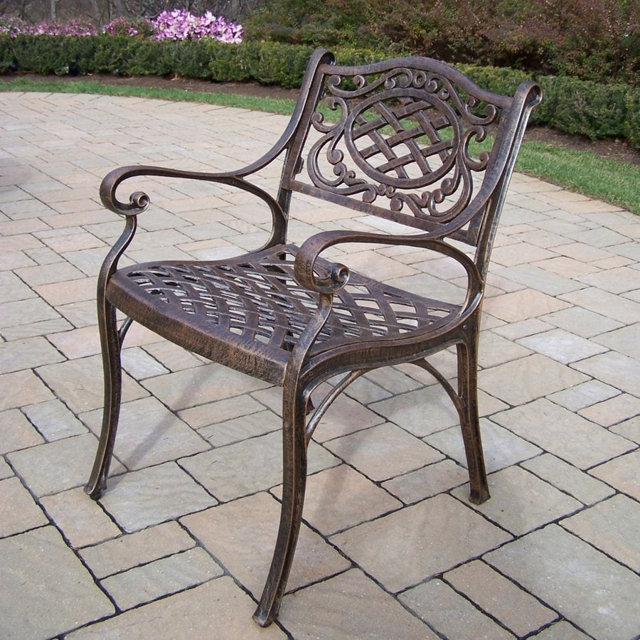 Oakland Living Cast Aluminum Patio Dining Chair