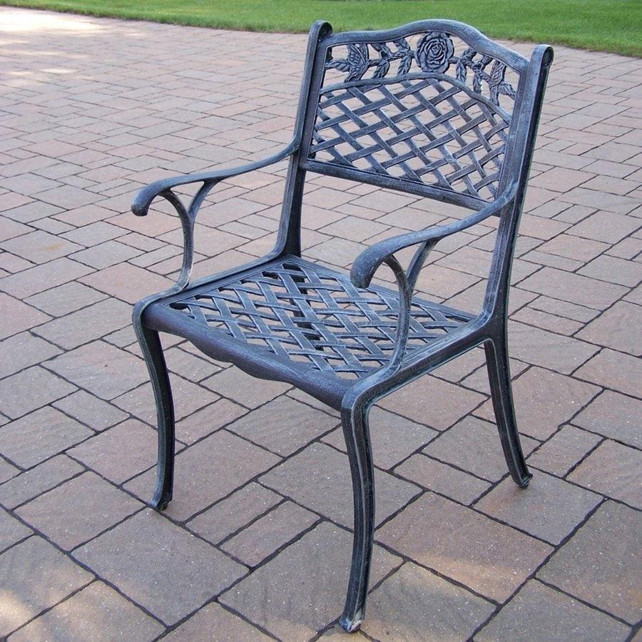 Oakland Living Cast Aluminum Patio Dining Chair