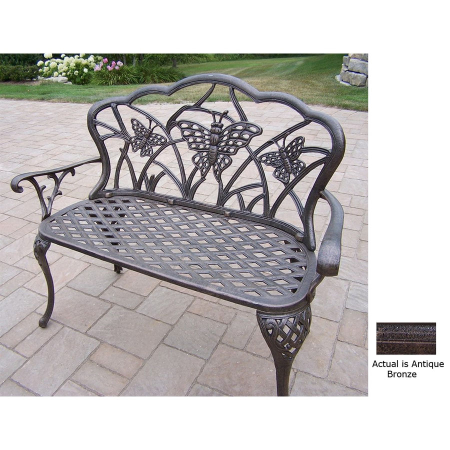 Oakland Living 36-in L Aluminum Patio Bench