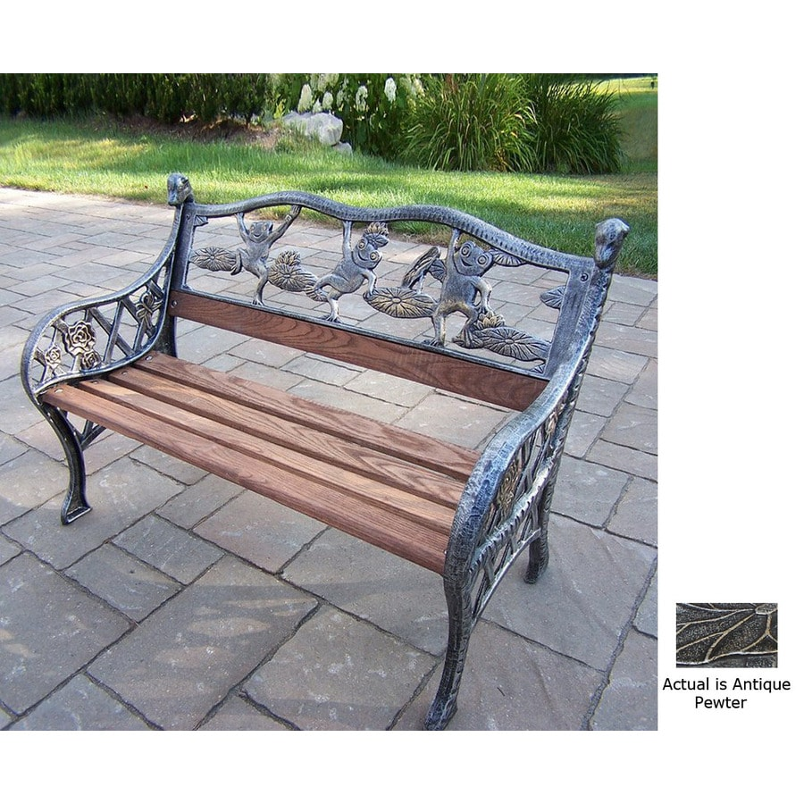 Oakland Living 20-in L Steel/Iron Patio Bench