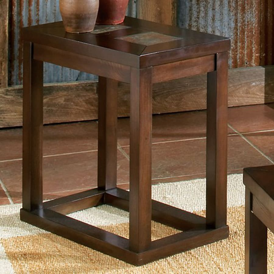 Steve Silver Company Alberto Brown Oak Ash End Table