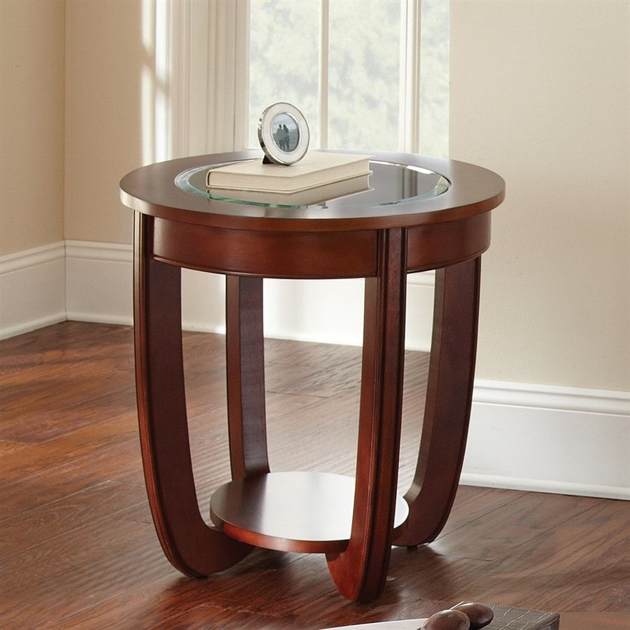 Steve Silver Company London Cherry Birch Oval End Table