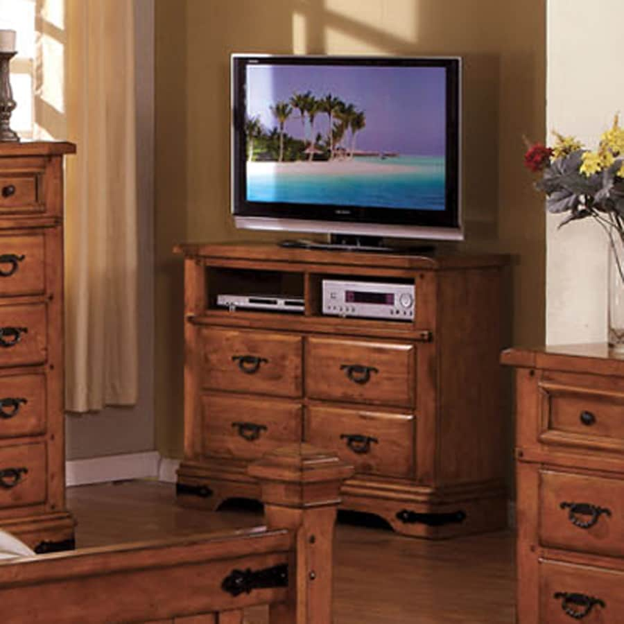 Furniture of America Sonoma American Oak Rectangular TV Cabinet