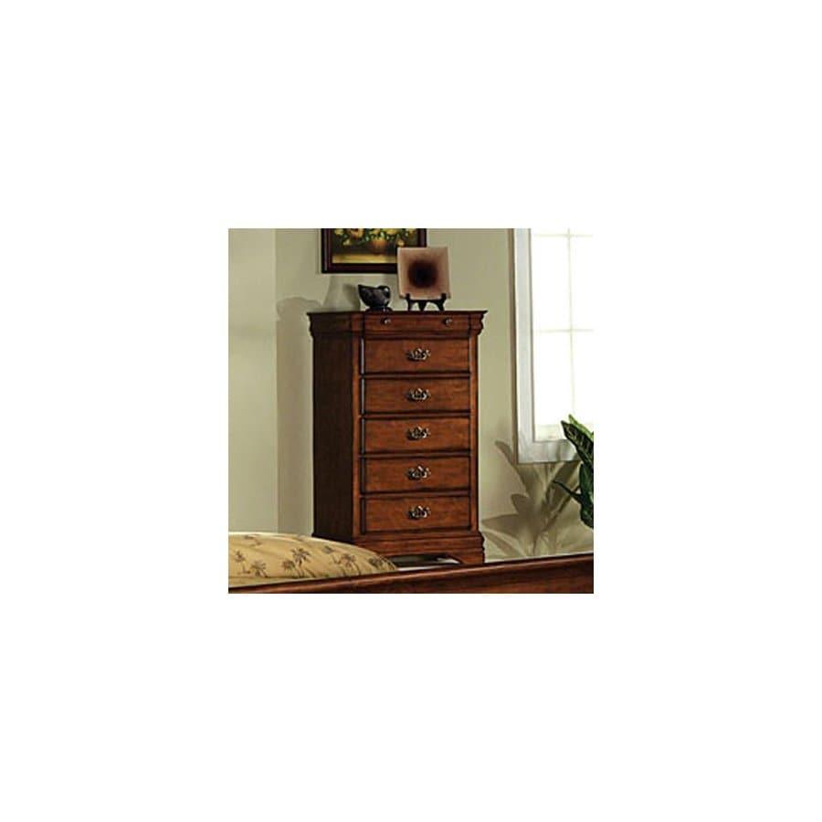 Furniture of America Venice Dark Oak 6-Drawer Dresser