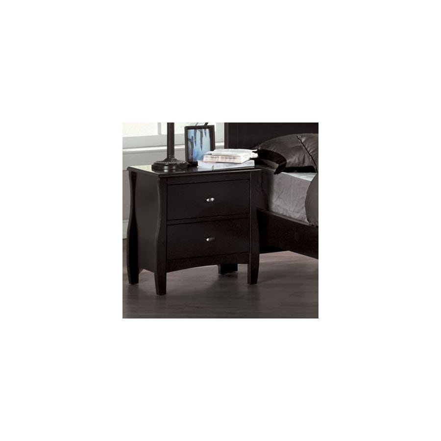 Furniture of America Milano Espresso Birch Nightstand