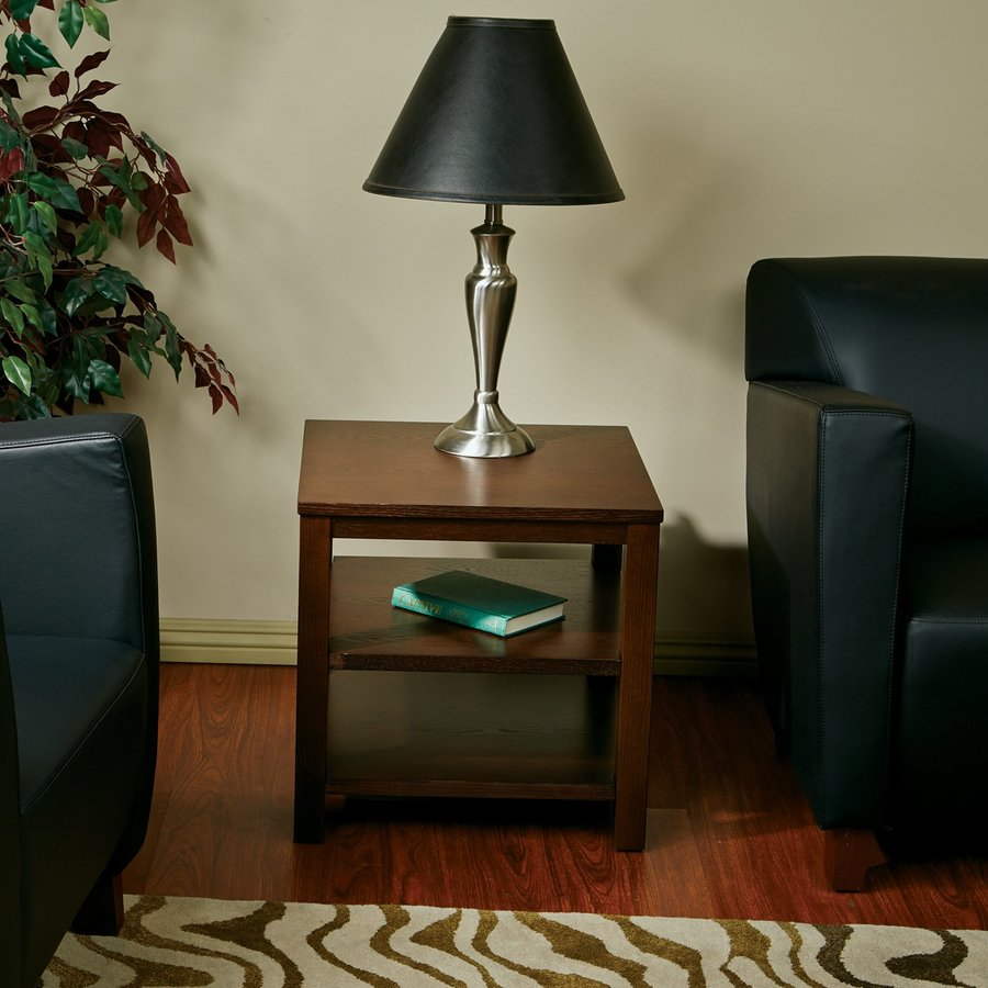 Office Star Avenue Six Espresso Ash End Table