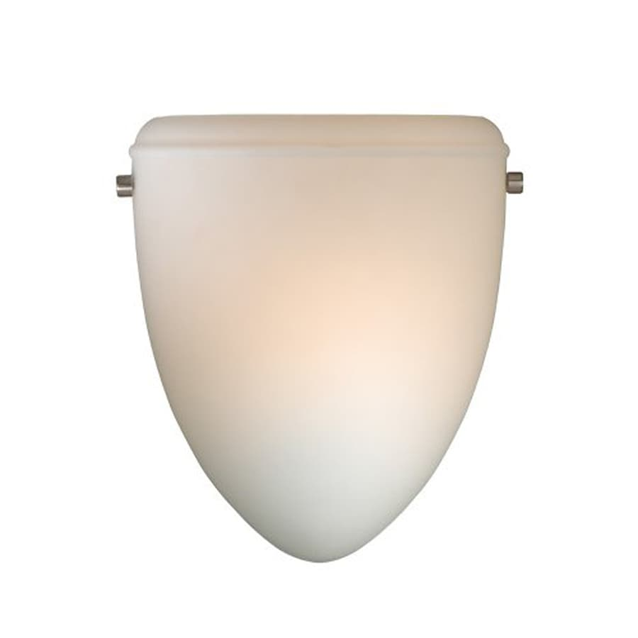 Cascadia Lighting Helsinki 8.5-in W 1-Light Brushed Nickel Pocket Wall Sconce