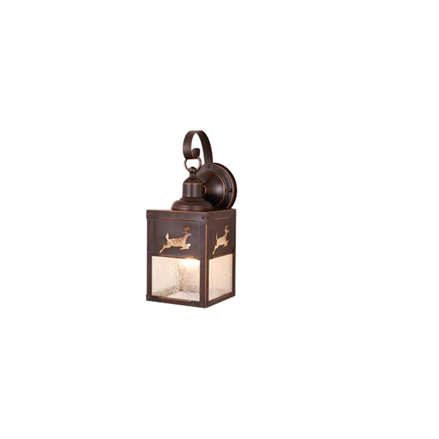 Cascadia Lighting Yellowstone Bryce 13-in Burnished Bronze Outdoor Wall Light