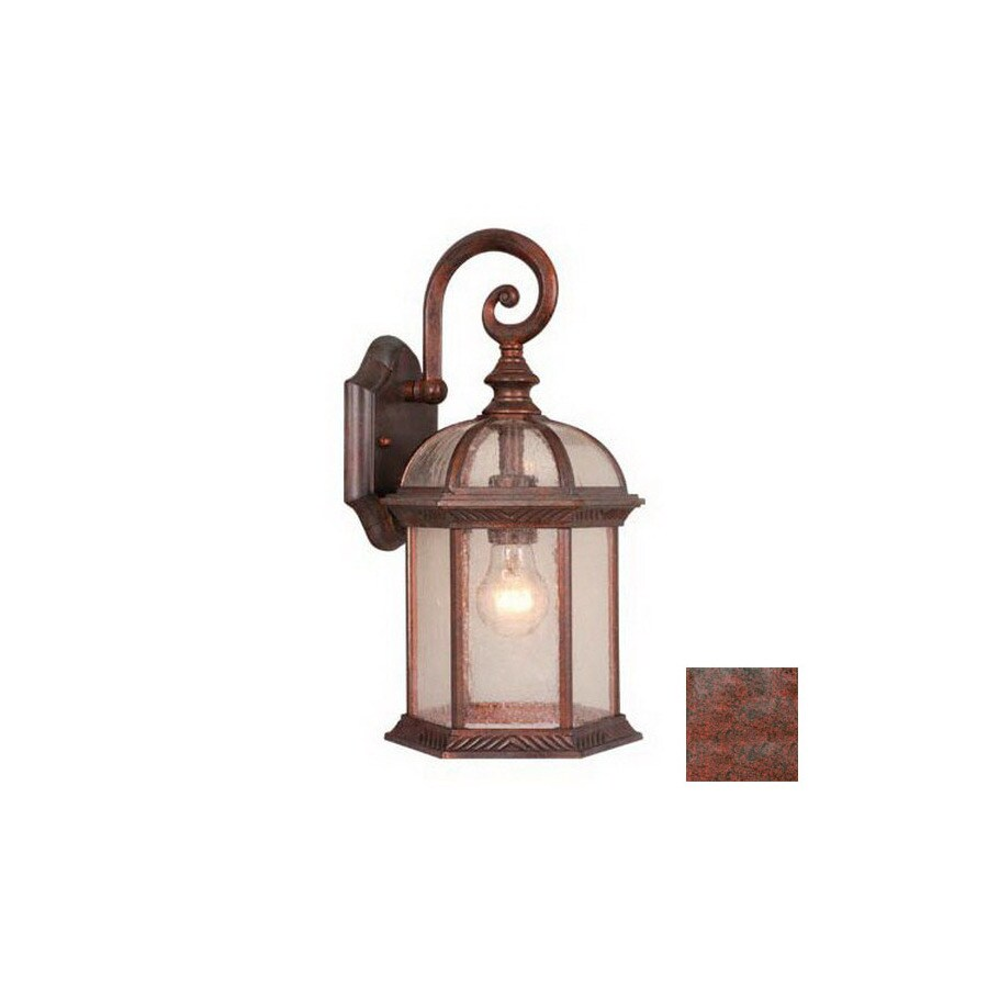 Cascadia Lighting Chateau 16-in Royal Bronze Outdoor Wall Light