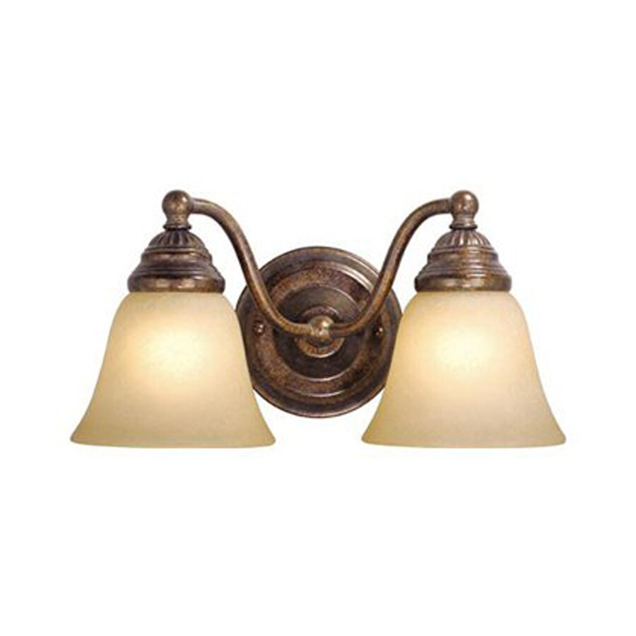 Cascadia Lighting Standford 2-Light Royal Bronze Vanity Light