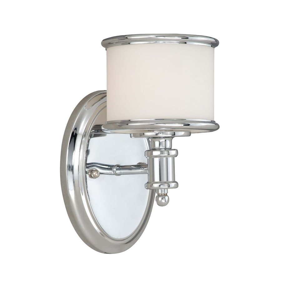 Shop Cascadia Lighting Carlisle Chrome Bathroom Vanity ...