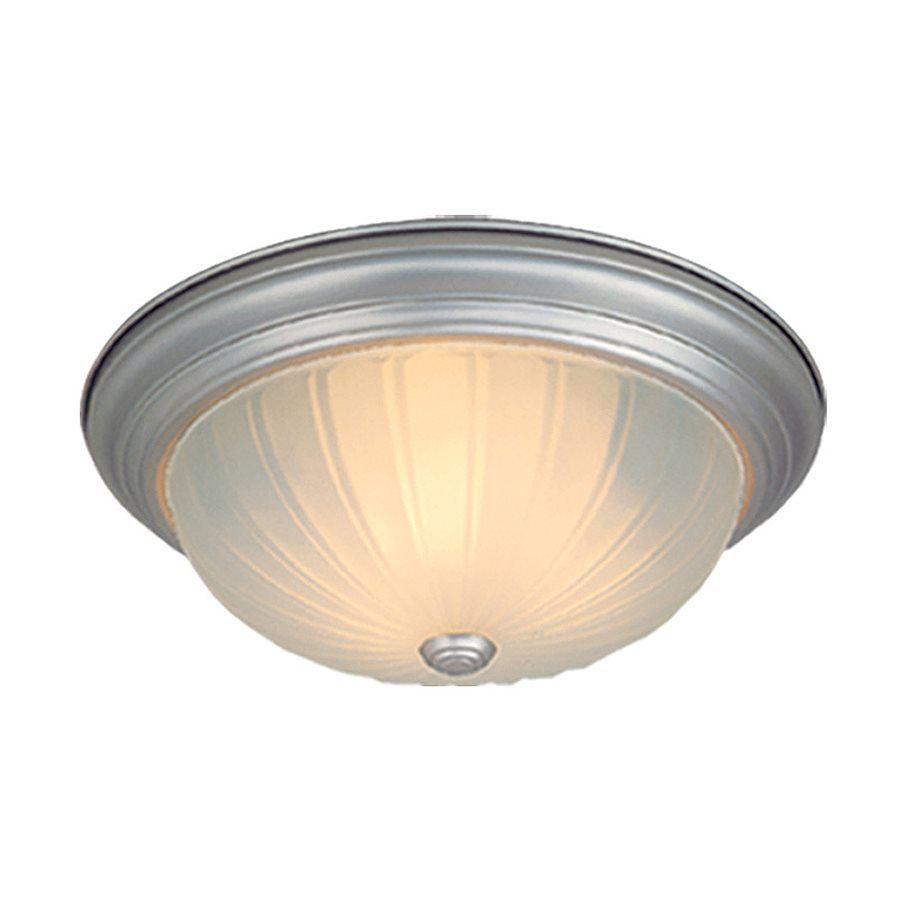 Cascadia Lighting 16-in W Brushed Nickel Ceiling Flush Mount Light