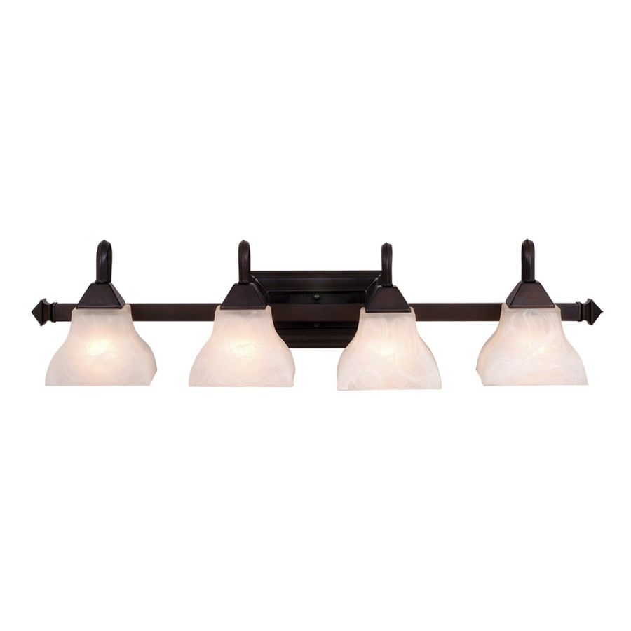Cascadia Lighting 4-Light Oiled Burnished Bronze Vanity Light