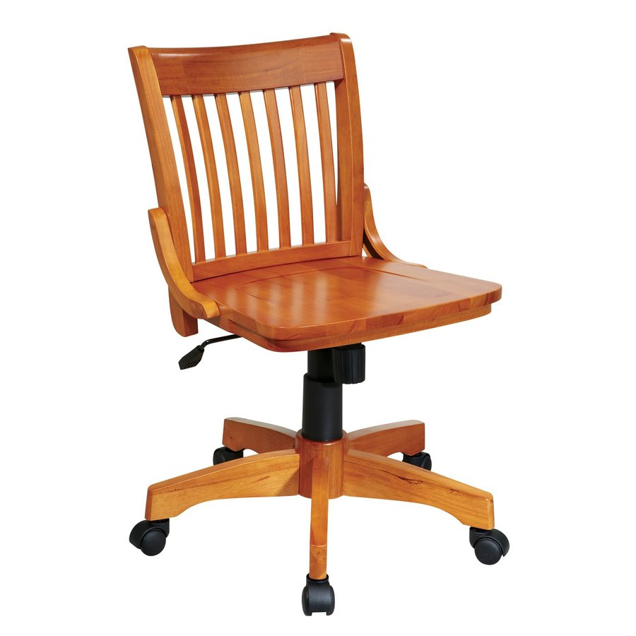 Office Star OSP Designs Fruitwood Bankers Office Chair