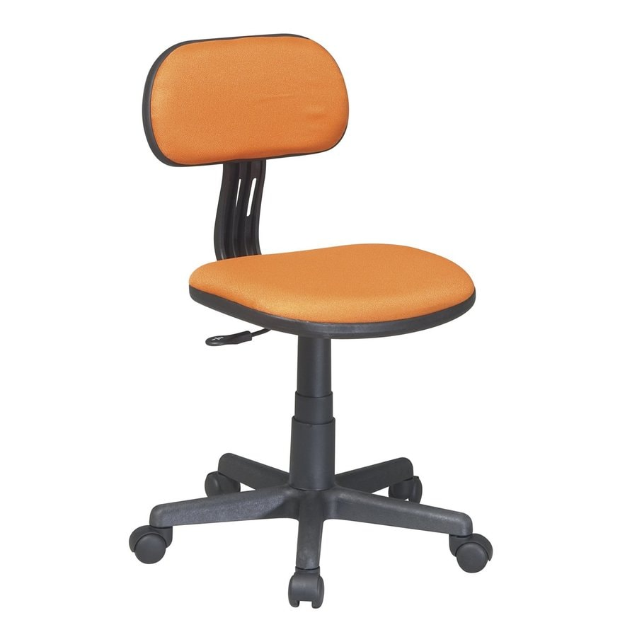 Office Star OSP Designs Orange Task Office Chair