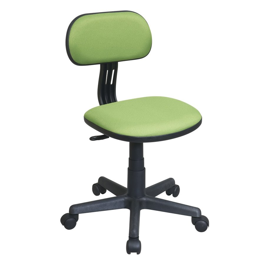 Office Star OSP Designs Light Green Contemporary Task Chair