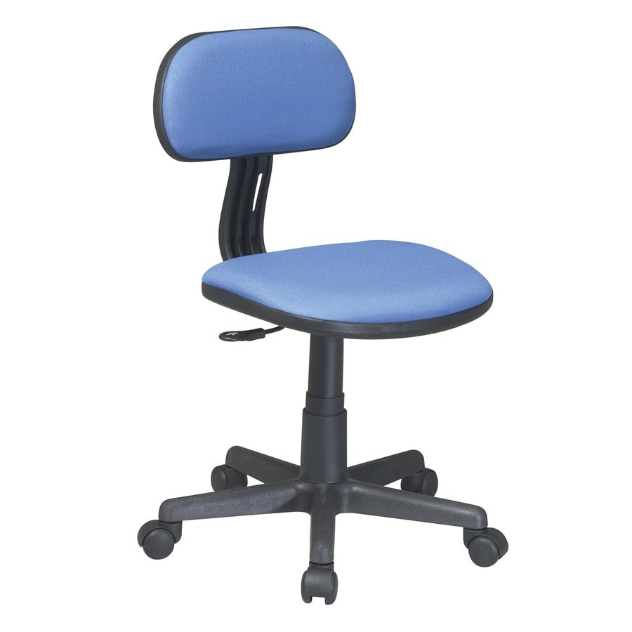 Office Star OSP Designs Blue Contemporary Task Chair