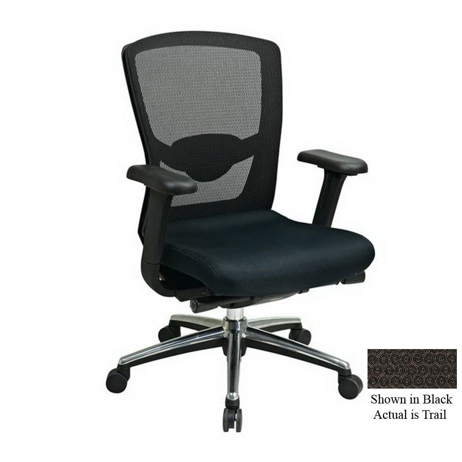 Office Star Proline II Black Executive Office Chair
