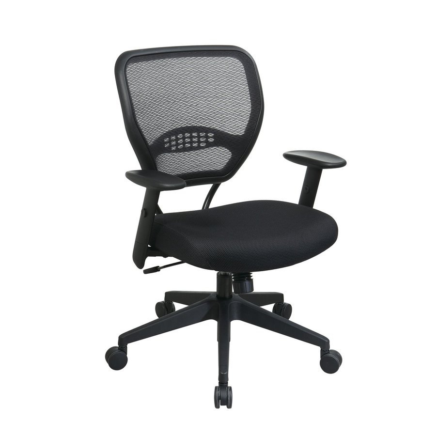 Office Star Space Seating Black Mesh Task Office Chair