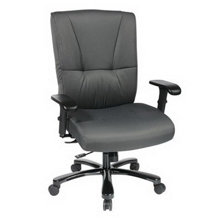 Office Star Proline II Gunmetal Executive Office Chair