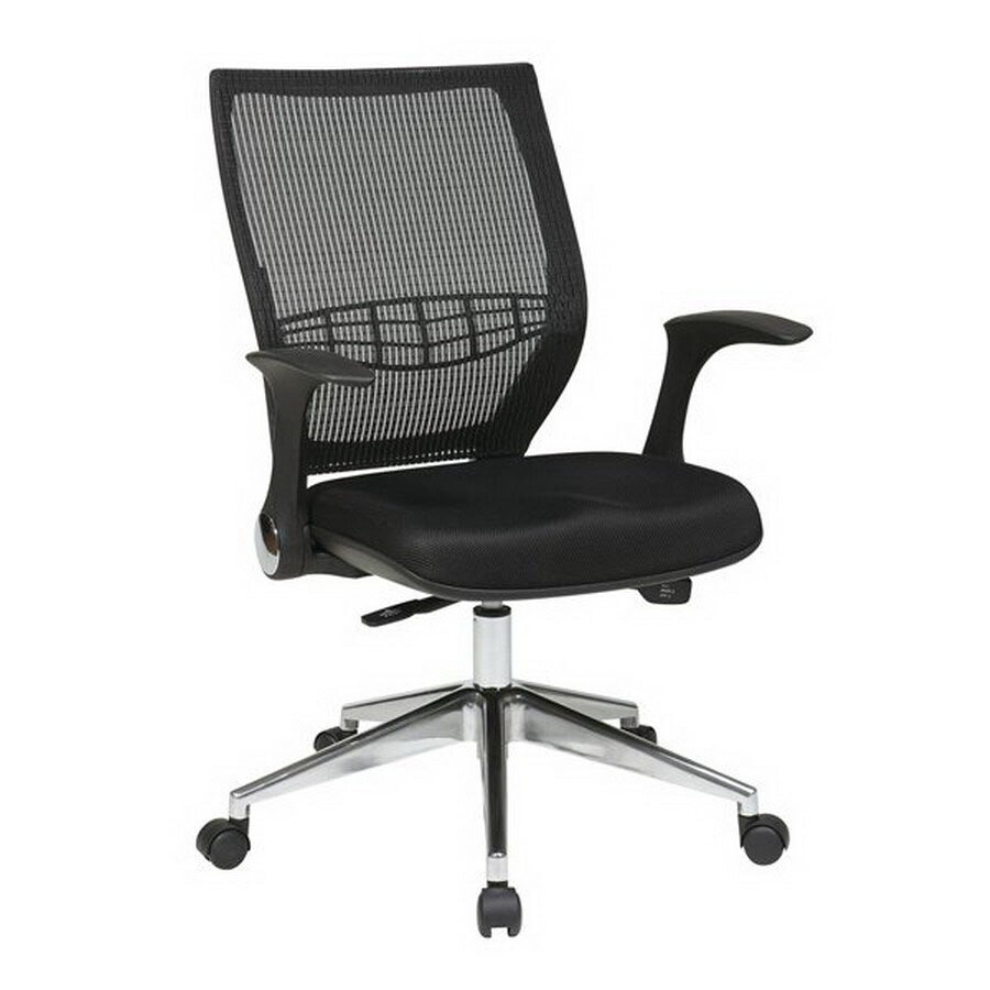 Office Star Proline II Polished Aluminum Manager Office Chair