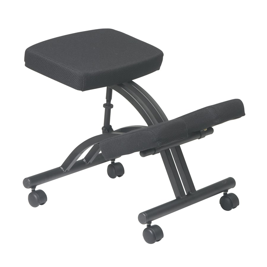 Office Star WorkSmart Black Contemporary Task Chair