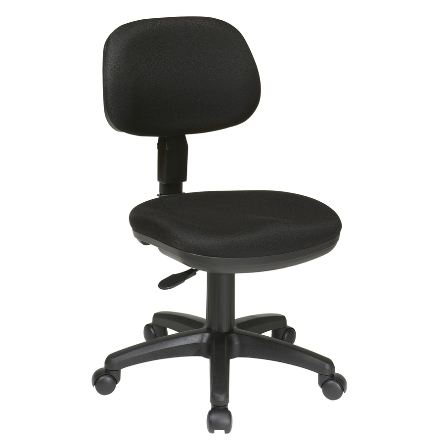 Office Star WorkSmart Black Traditional Task Chair