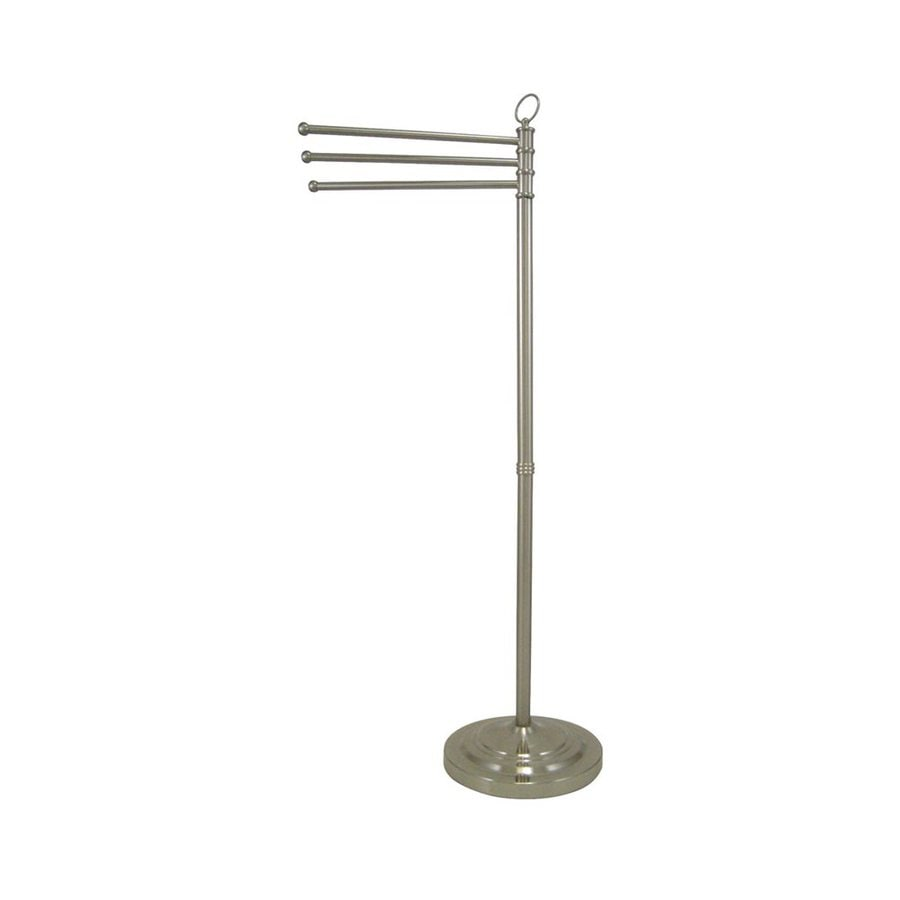 Elements of Design Vintage Satin Nickel Rack Towel Bar (Common: 17-in; Actual: 22.5-in)