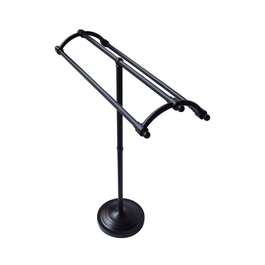 Elements of Design Vintage Oil-Rubbed Bronze Rack Towel Bar (Common: 31-in; Actual: 31.125-in)